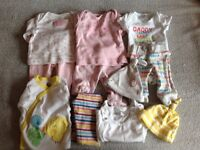 Girls/unisex baby clothes