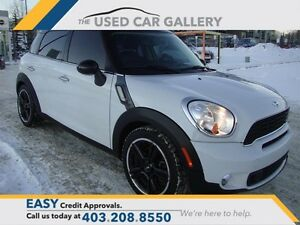 2011 MINI COOPER S Countryman, AUTO! LEATHER! NAVIGATION!