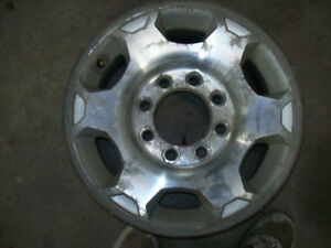 "17"" Aluminum GM Rims  8 bolt 2500"