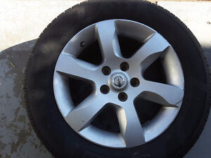 SUMMER TIRES MOTORMASTER   Tires with rims 215/60R 95V MMSE3 Kitchener / Waterloo Kitchener Area image 1