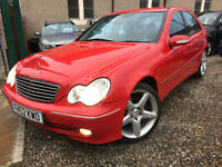 ✿Mercedes-Benz C Class 3.2 C320 Avantgarde SE 4dr ✿UPGRADED AMG ALLOYS✿