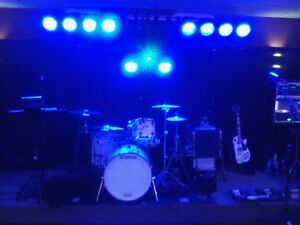 Complete Stage Lighting Set w. Truss System and SKB cases