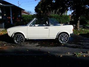 1983 Volkswagen Cabrio Coupé   projet ou piece  voiture époque