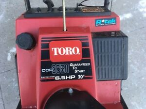 Toro CCR3650, 6.5HP with Electric Start