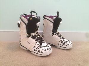 Salomon Women's Size 10US Snowboard Boots