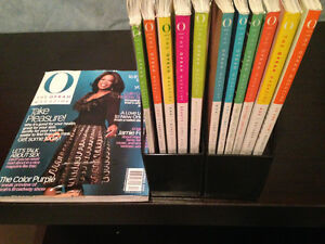 13 BACK ISSUES OF THE OPRAH MAGAZINES 2006