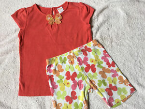 Gymboree Coral Butterfly Set size 4 $6