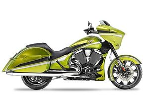 2015 Victory Magnum Plasma Lime with Silver