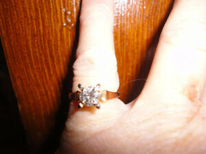 1/2m caret yellow gold diamond ring