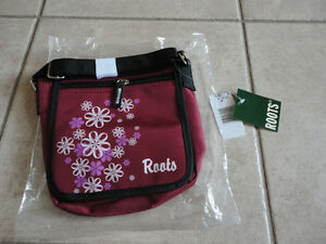 Roots burgundy crossbody messenger bag purse New with tags London Ontario image 1