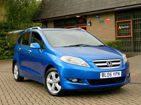 2006 06 Honda Fr-V 2.2 i-CDTi Sport 5dr WITH FSH+LEATHER+6 SEATS&MORE
