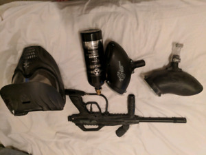 Tac 5 recon paintball combo