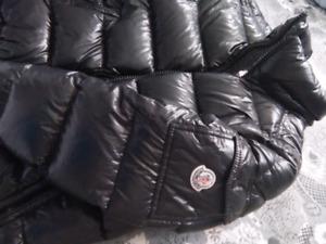 Black Moncler Winter Jacket