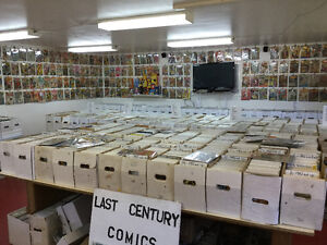 VINTAGE COMICS EVERY SATURDAY  12 TO 4 TILL LATE FALL