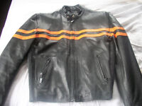 Leather Jacket- Mostly New