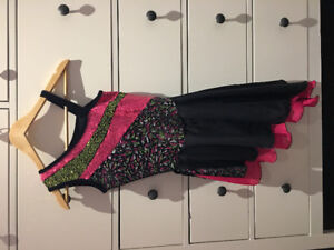 Figure skating dress, size 12/14