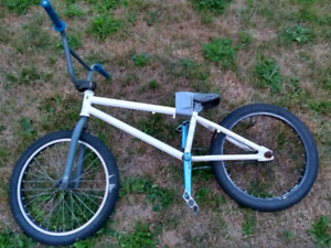 Hoffman bmx with other parts.