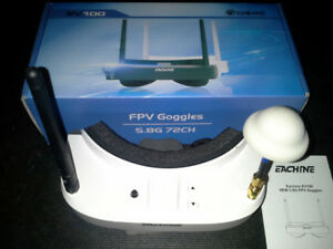 FPV GOGGLES  NEW      NOT USED