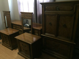 Thomasville 6 pieces bedroom set