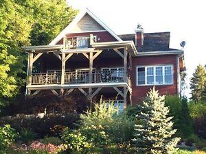 Maison à vendre La maison rouge rivière noire st jean de matha