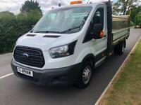 2017 17 FORD TRANSIT 350 L3 DROPSIDE 130PS 34,000 MILES 1 OWNER FROM NEW