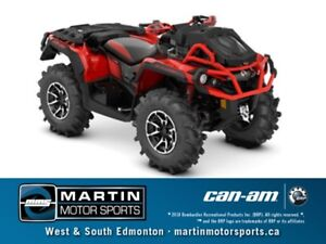 2018 Can-Am Outlander X mr 1000R Black  Can-Am Red