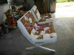 Pony Skin Barcelona Chair Cushions and Replacement Straps