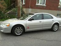 2004 Chrysler Sebring Berline limited