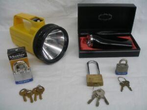 Lampes poche Conventionnel / Vintage et Cadenas