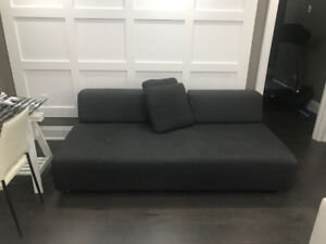 Sofa - Removable backrest multiconfiguring sofa