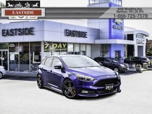 2015 Ford Focus ST  - Leather Seats -  Bluetooth - $149 B/W