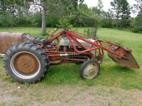 For Sale or trade 1954 ford Tractor