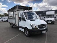 Mercedes-Benz Sprinter 3.5T CAGE TIPPER SINGLE CAB DIESEL MANUAL WHITE (2016)