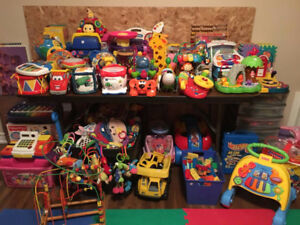 Massive Selection of  TOYS....for infants and toddlers 0-4 years