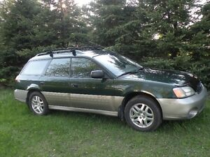 SUBARU OUTBACK 2001  2.5LITRES  TRACTION INTÉGRALE