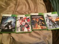 Fours Xbox 360 games