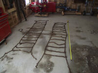 Chains for a Farm Tractor