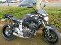 Yamaha MT07 2016 6k grey/black mot hpi clear! A2 ok,£299 dep naked streetfighter