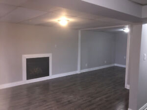 1 bedroom spacious basement apartment whitby 1350