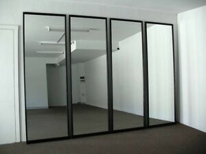 FOR SALE SLIDING MIRRORED DOORS FOR BUILT IN WARDROBE Hornsby Hornsby Area Preview