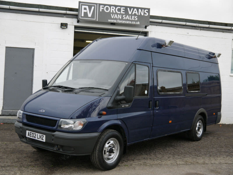 ford transit 125bhp 350 elwb jumbo mobile office command