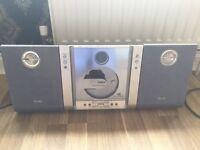 Slimline Philips CD player / radio