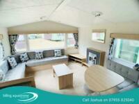Fantastic brand new caravan for sale on Billing Aquadrome CALL JAMES 07495 66837
