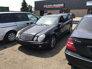 2003 Mercedes-Benz E-Class E500 4matic Sedan