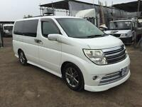 NISSAN ELGRAND RIDER S 2006/55 3.5 Litre 8 SEATER - PETROL - AUTOMATIC