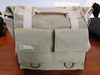Sac National Geographic pour camera & laptop