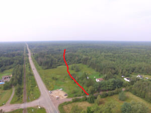 Land for sale 16.5 acres with river frontage in Harcourt NB.