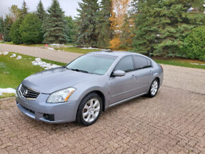2007 NISSAN MAXIMA, TOP OF THE LINE, VERY CLEAN, NEW SAFETY!