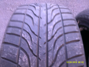 2 used tires HanKooK VENTUS 65% on tires 205/55/p16 $80 email or