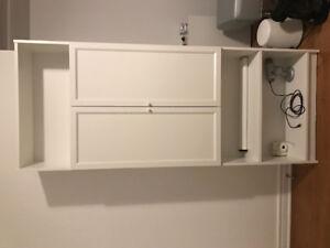 Bibliothèque et table de travail IKEA